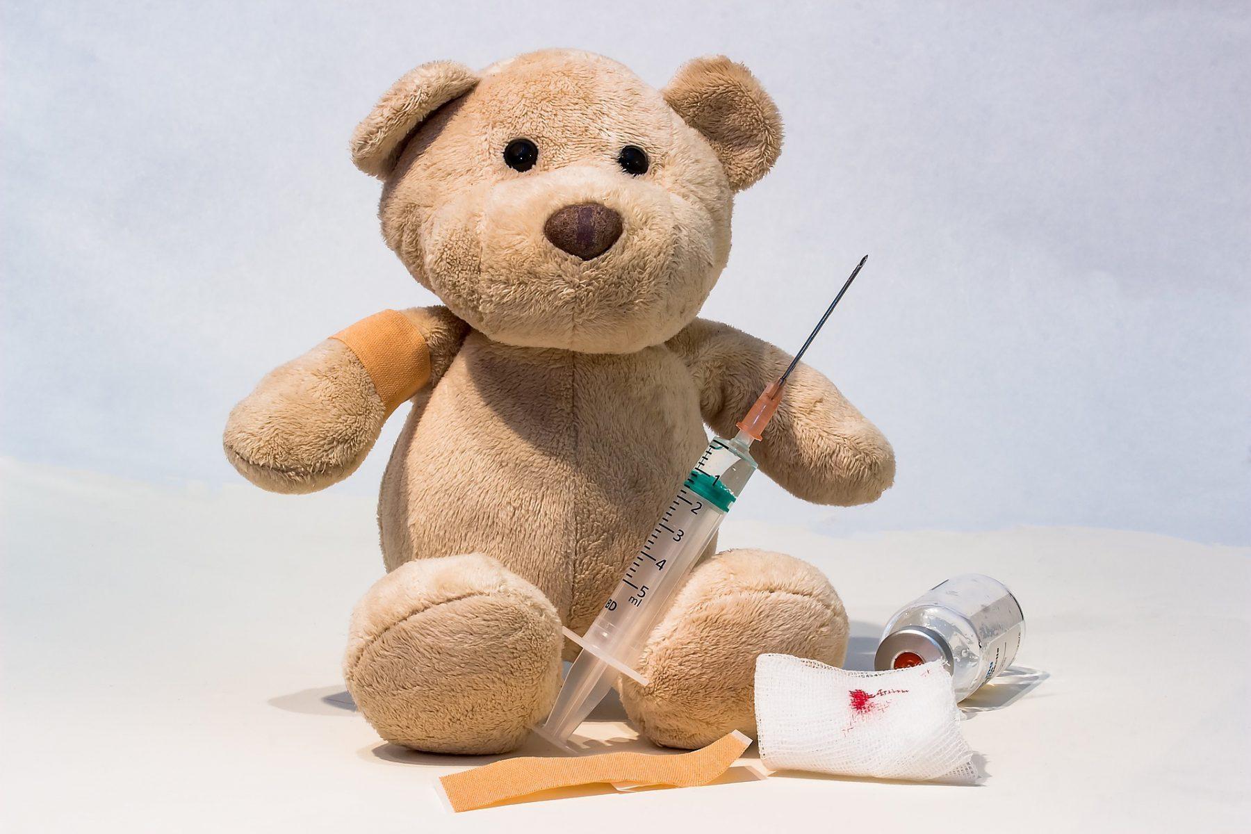 scheersanders vaccineren