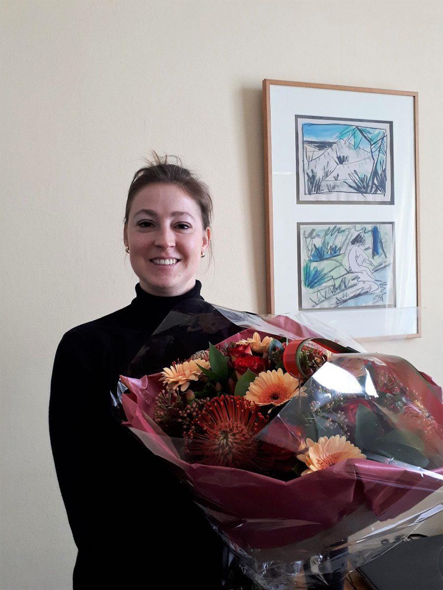 Hilde Dreesmann felicitatie