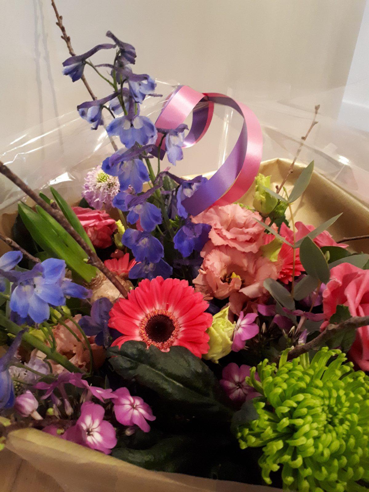 Irene Lansen Scheer Sanders bloemen